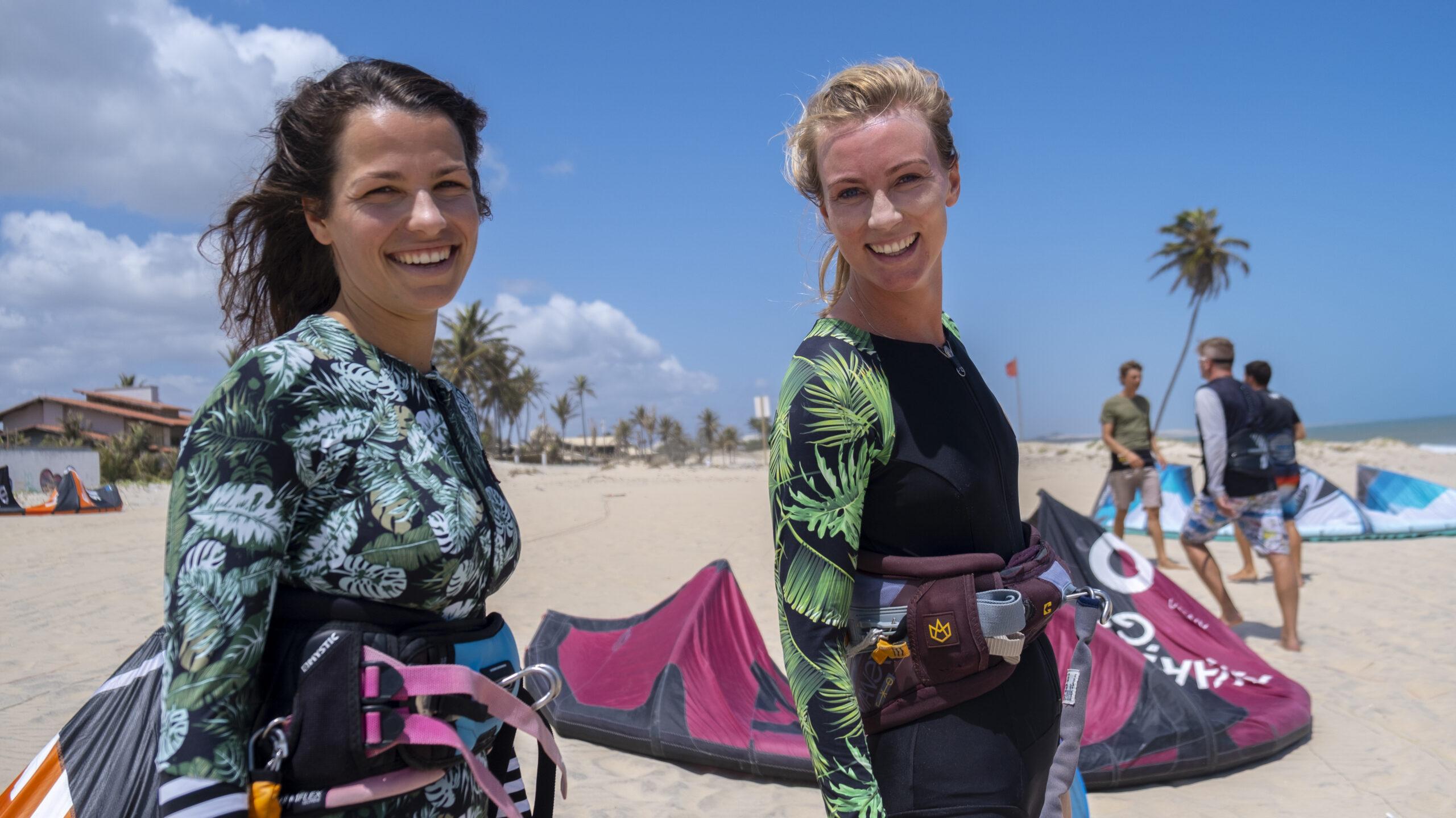 kitesurfing babes
