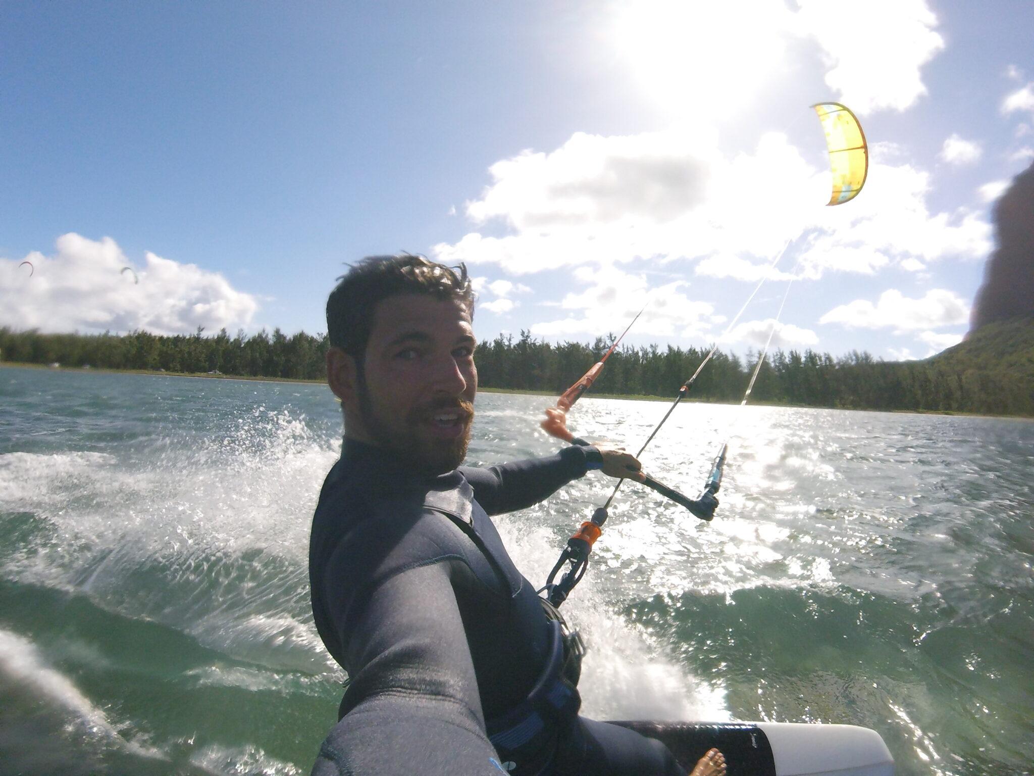 selfie-kitesurf